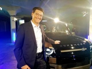 Generální ředitel Jaguar Land Rover Austria dr. Thomas Hörmann.