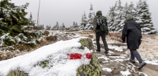 Cesta na Sněžku.
