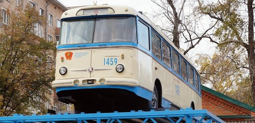 Trolejbus Škoda 9Tr18.