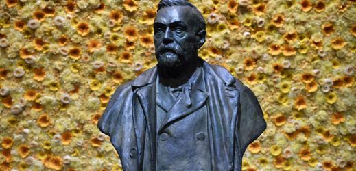 Busta Alfreda Nobela.