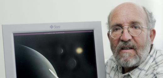 Astrofyzik Michel Mayor.