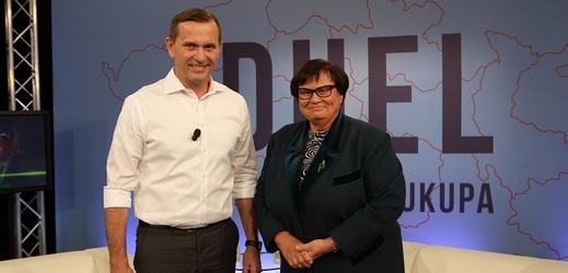 Duel Jaromíra Soukupa s ministryní Marií Benešovou.