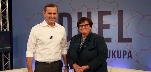 Jaromír Soukup a Marie Benešová.