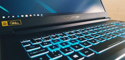 Herní notebook: Acer Helios 300 – z rodiny herních titánů