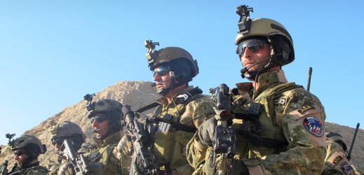 Afghánští vojáci.