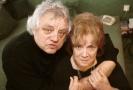Herečka Vlasta Chramostová a její manžel kameraman Stanislav Milota.