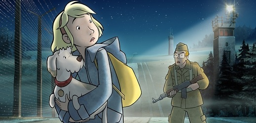 Snímek z filmu Fany a pes.