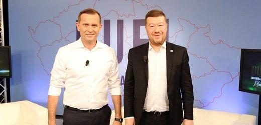 Jaromír Soukup s Tomiem Okamurou.