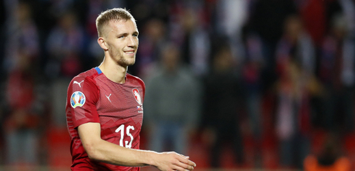Tomáš Souček proti Anglii.