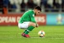 Aaron Connolly z Irska ví, že si jeho národní tým zadělal na problém.