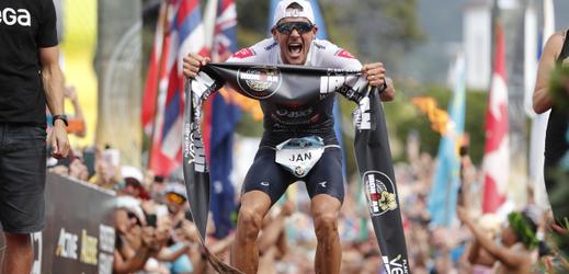 Německý triatlonista Jan Frodeno.