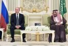 Vladimir Putin a saúdský král Salmán.