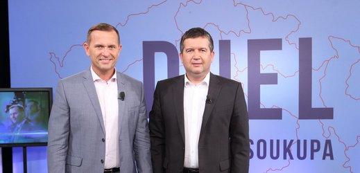 Duel Jaromíra Soukupa s Janem Hamáčkem.