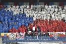Čeští fanoušci během zápasu fotbalové jednadvacítky (ilustrační foto).