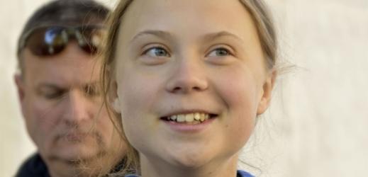 Aktivistka Greta Thunbergová.