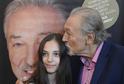 Zpěvák Karel Gott a jeho dcera Charlotte Ella.