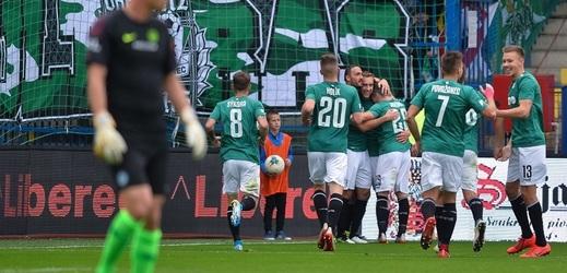 Fotbalisté Liberce dvakrát dotáhli ztrátu a ve 13. kole první ligy remizovali s Jabloncem.