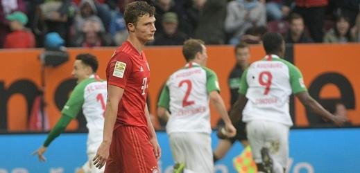 Koubek s Morávkem pomohli Augsburgu k remíze s Bayernem.
