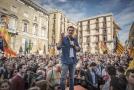 Demonstrace v Katalánsku (ilustrační foto).