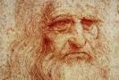 Autoportrét renezančního umělce Leonarda da Vinci.