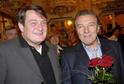 Ladislav Štaidl s Karlem Gottem v roce 2007.