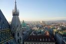 Pohled na centrum Vídně.