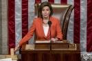 Předsedkyně Sněmovny reprezentantů Nancy Pelosiová.