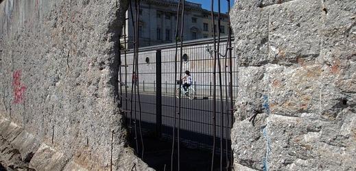 Berlínská zeď.
