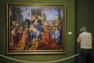 Obraz Růžencová slavnost německého malíře Albrechta Dürera.