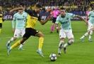 Zápas Dortmund-Inter Milán.