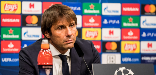 Trenér Interu Milán Antonio Conte.