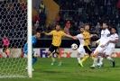 Utkání Evropské ligy Guimaraes - Arsenal.
