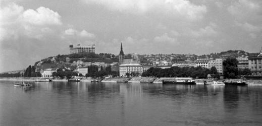 Bratislava v šedesátých letech.