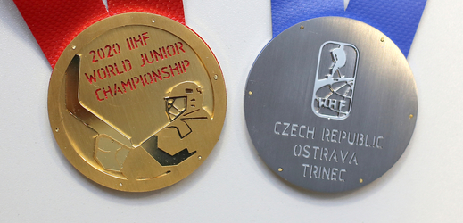 Medaile připravené pro nejlepší.