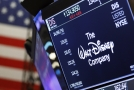 Akcie hollywoodského studia Disney na New Yorské burze.