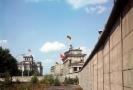 Berlínská zeď v sedmdesátých letech.