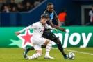 Útočníka Brugg za neproměněnou penaltu v Paříži potrestal jeho vlastní klub