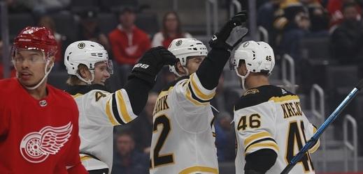 Hokejový útočník David Krejčí vstřelil v pátečním utkání NHL gól a na další přihrál.