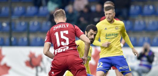 Zlín zdolal v 16. kole fotbalové ligy Olomouc.