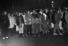 Demonstrace v Teplicích.