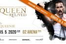 Megakoncert Queen Relived 2020 bude v O2 areně hned dvakrát.