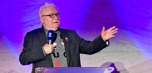 Bývalý polský prezident Lech Walesa.