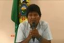 Bolivijský prezident Evo Morales oznamuje rezignaci.