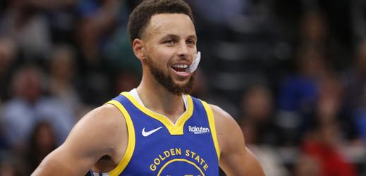 Basketbalová hvězda Stephen Curry.