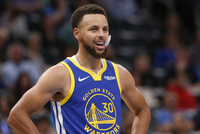 Basketbalová hvězda Stephen Curry.