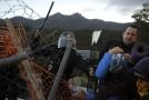 Policie na hranicích zasáhla proti katalánským separatistům.