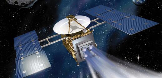 Japonská kosmická sonda Hajabusa.