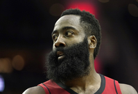 Basketbalista James Harden.