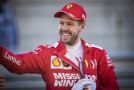 Sebastian Vettel z Ferrari.