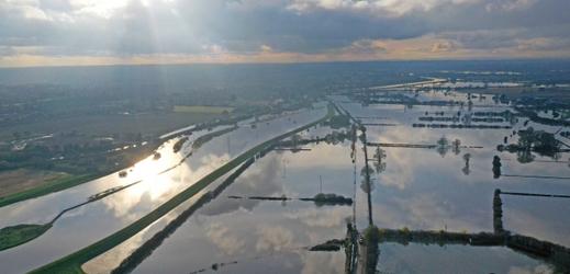 Záplavy v Anglii.